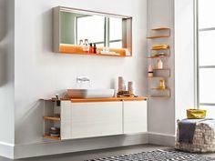 5.ZERO Wall-mounted vanity unit by ARBLU