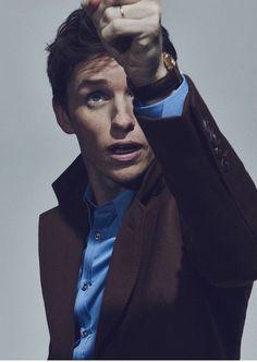Eddie Redmayne from The Telegraph Magazine shoot by Jon Gorrigan.