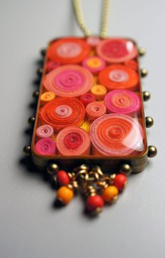 Quilled Paper Necklace