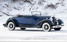 1934 Packard Eight 1101 Coupe Roadster - $143K