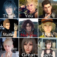 final fantasy | Tumblr >< I disagree. Ardyn is the WHY this game is so cool and awesome.