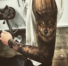 Inked-Wolf-Bad-Sleave-Arm-Rozaap