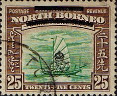 North Borneo 1947 British Protectorate Fine Used GR monogram SG 345 Scott 233 Other Malayan Stamps HERE