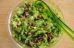 Quinoa salade met groene kruiden - Healthy Vega