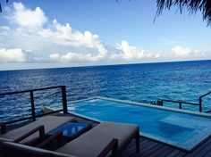 Water Villa, Maldives Resort, Resorts, Swimming Pools, Palm, Relax, Outdoor Decor, Home Decor, Swiming Pool