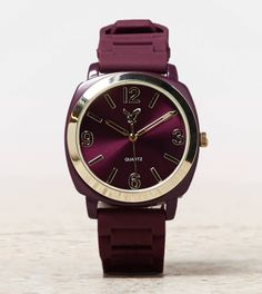AEO RUBBER WATCH from American Eagle Outfitters. Shop more products from American Eagle Outfitters on Wanelo. Other Accessories, Handbag Accessories, Jewelry Accessories, Jewelry Ideas, Rubber Watches, Passion For Fashion, Burgundy, Jewels, Shopping