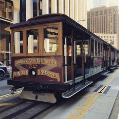 When in San Francisco you cannot miss the experience of a cable car ride. These are the only manually operated cable cars left in the world!! #explore #discover #travel #traveling #travelbug #wanderlust #globetrotter #passionpassport #bucketlist #buckleup #igtravel #letsgo #tourist #sanfrancisco #usa by lady_travelbug