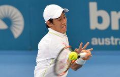 Kei Nishikori Photos - 2015 Brisbane International - Day 4 - Zimbio