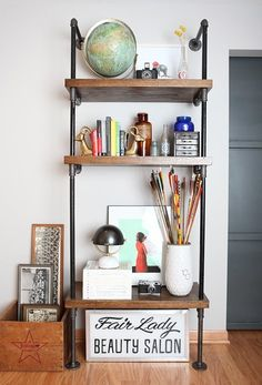 Wall-Mounted Shelving Systems You Can DIY   Apartment Therapy