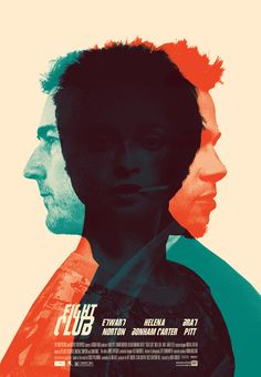 Fight Club: her name is Marla Singer. Best Movie Posters, Movie Poster Art, Cool Posters, Action Movie Poster, Film Poster Design, Films Cinema, Cinema Posters, Love Movie, I Movie
