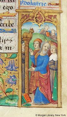 Book of Hours, MS H.5 fol. 36r - Images from Medieval and Renaissance Manuscripts - The Morgan Library & Museum