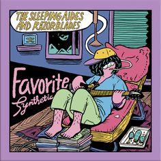 THE SLEEPING AIDES & RAZORBLADES LP 「Favorite...