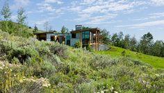 Landes-Oatey Residence by Ward + Blake Architects, Jackson, WY