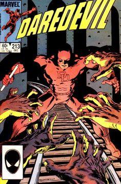 Daredevil # 213 by David Mazzucchelli