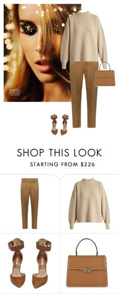 """""""Untitled #1441"""" by randeee ❤ liked on Polyvore featuring Étoile Isabel Marant, The Row, Michael Kors and Valentino"""