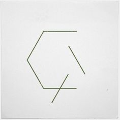 #289 This hexagon is falling apart – A new minimal geometric composition each…