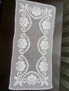 Thread Crochet, Filet Crochet, Crochet Doilies, Crochet Lace, Crochet Flower Patterns, Crochet Flowers, Cross Stitch Flowers, Chrochet, Diy And Crafts