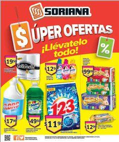 Folleto Soriana Ofertas del 21 al 24 de marzo Folleto Soriana:Soriana Híper ya cuenta con su nuevo folleto de ofertas, a continuación te presentamos la lista de algunas ofertas que nos parecieron interesantes: > Suavitel complete de 850 ml $12.50 > Pañales Comodisec median, grande o jumb... -> http://www.cuponofertas.com.mx/oferta/folleto-soriana-ofertas-al-24-marzo/
