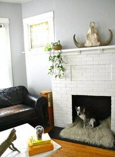 mantel decorating ideas for spring white living room brick fireplace