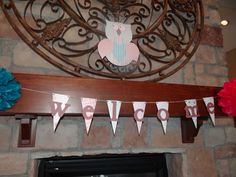 """""""Welcome"""" Bunting and large owl"""