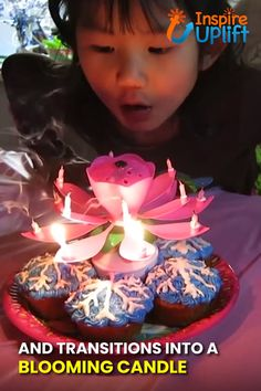Take your birthday parties to the next level with this Blooming Musical Candle! This amazing, lotus, flower candle plays the birthday song and opens up, as if blooming, into a beautiful flower. Birthday Songs, It's Your Birthday, Birthday Parties, Diy Christmas Videos, Christmas Crafts, Diy Crafts For Kids, Easy Crafts, Red Candles, Flower Center