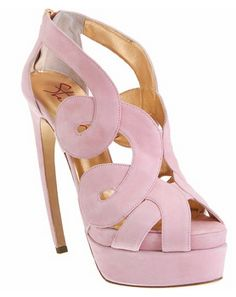 love = light pink shoes