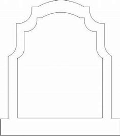Tombstone Templates Bmps More Templates On This Site Outdoor Rh Pinterest  Com Blank Tombstone Clip Art