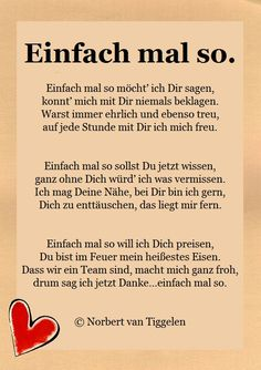 Caress souls with this book. ♥ Author: Norbert van Tiggelen, Source by German Quotes, Birthday Board, Love Letters, Birthday Quotes, Boyfriend Gifts, Cool Words, Lyrics, Wisdom, Author