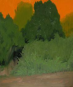 """Joseph Noderer Road 2013 Oil on Panel 10""""x12"""""""