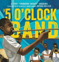 In this companion to the Caldecott Honor and Coretta Scott King Award–winning Trombone Shorty, join a scrappy young musician named Shorty on a tour of his beloved New Orleans. After letting his band down by missing rehearsal, Shorty has some serious quest Pre-school Books, Old Children's Books, New Books, Music Books, Coretta Scott King, Common Sense Media, Trombone, Him Band, Oclock