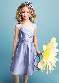 Ultra feminine and super sweet, this is the perfect dress for your junior bridesmaid on your special day!  Sleeveless bodice features pleated detail that shapes a stunning silhouette.  Ruched banded empire waist is flattering and chic.  Beautiful organza fabric is stunning and airy.  Fully lined. Back zip. Imported polyester. Dry clean.