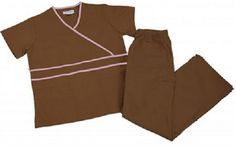 Get a tremendous value with the Natural Uniforms Contrast Mock Wrap scrub set! The set includes a Contrast Mock Wrap top with back lower inset pockets and comfy flare leg pants drawstring and elastic) Discount Scrubs, Cheap Scrubs, Flare Leg Pants, Womens Scrubs, Medical Scrubs, Scrub Sets, Bermuda Shorts, Contrast, Bliss