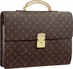 a6864f0d15fc Louis Vuitton  Briefcase is what you call dressing for  success. I have this