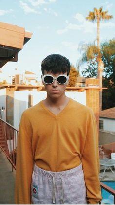 Image result for luca fersko sunglasses white rimmed