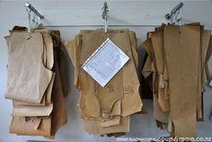 como organizar seus moldes de costura | MODA PERMITIDA