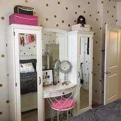 Nevaeh would love this ! #teengirlbedroomideasvintage