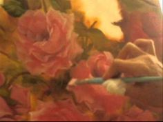 Unbelievable, she paints water droplets on the rose petals!!!!!  ~K8~