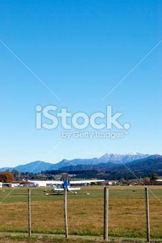 Motueka Airport, South Island, New Zealand Royalty Free Stock Photo