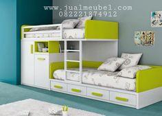 Set ranjang tidur anak modern murah