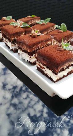 Mascarpone rezy s nutellou – Recepis. Cookie Desserts, Sweet Desserts, Sweet Recipes, Cake Recipes, Nutella, Angel Food Cupcakes, Kolaci I Torte, Czech Recipes, Tasty Videos