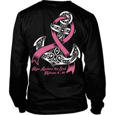 Hope Anchors The Soul Breast Cancer T-Shirts & Hoodies