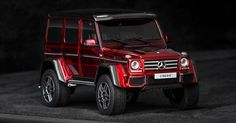 A Mercedes-Benz G500 4x4² We Can All Afford Because You Know, It's A Scale Model #Mercedes #Mercedes_G_Class