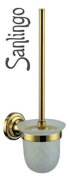 Luxus Toilettenbürste Klobürste Bürste WC Sanlingo Gold Design BS1