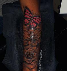 Girl Neck Tattoos, Forarm Tattoos, Arm Sleeve Tattoos, Girly Tattoos, Badass Tattoos, Sleeve Tattoos For Women, Pretty Tattoos, Body Art Tattoos, Tatoos