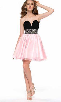 Girly Pink Jeweled Illusion Short Prom Dresses UK KSP383 | uk prom ...