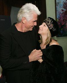 Barbra Streisand and James Brolin :')