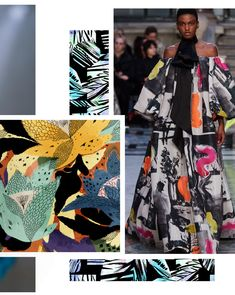 Pattern Bank, Pattern Design, Trend Fashion, Fashion Prints, Layering Trends, Fashion Forecasting, Textiles, Winter Trends, Color Trends