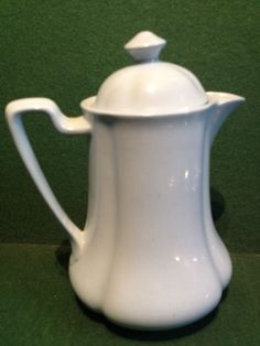 Vintage Johnson Brothers Greydawn Pattern Lidded Coffee Pot / Hot Water Jug 19cm