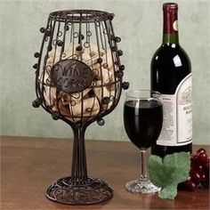 I have no idea why I would need a wine cork cage, but I still really want this! :)