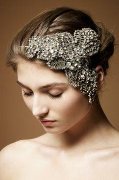 Diamante Encrusted Headpiece